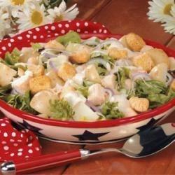 caesar chicken potato salad photos