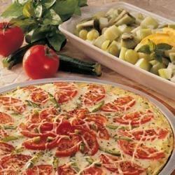 Zucchini Crust Pizza