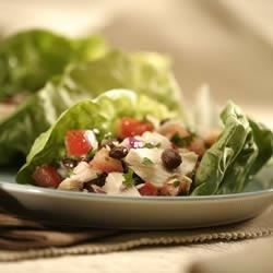 Tuna and Black Bean Salad Wraps Recipe
