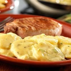 Basil Skillet Potatoes Recipe