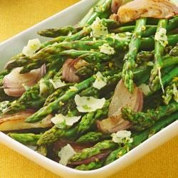 Becel(R) Oven-Roasted Asparagus with Parmesan Gremolata Recipe