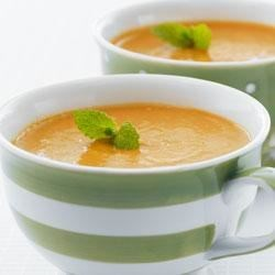 Spiced Red Lentil-Carrot Soup Recipe