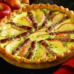 Sausage Apple Quiche
