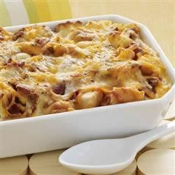 Cheesy Bacon and Egg Brunch Casserole Recipe