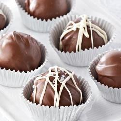Photo of Chocolate Hazelnut Truffles by Ghirardelli®