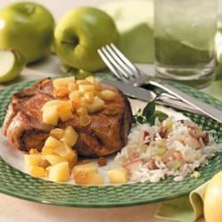 Apple Chutney Chops