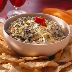 Easy Cheesy Spinach and Artichoke Dip Recipe