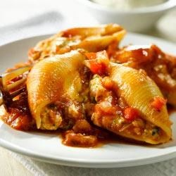Broccoli-Cheddar Stuffed Shells Recipe