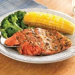 Photo of Herb Baked Salmon by Crisco® Pure Olive Oil