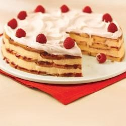 White Chocolate-Raspberry Trifle Cake Recipe