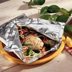 Photo of Lemon Chicken Primavera by Reynolds Wrap®