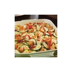 Photo of Zucchini, Chicken and Rice Casserole by Campbell's Kitchen