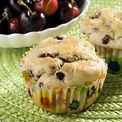 Cheery Cherry Muffins Recipe