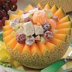 Photo of Melon Turkey Salad by Carolyn  Zimmerman