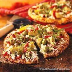California Harvest Pizza Recipe