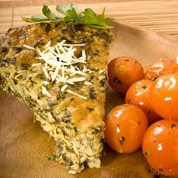 No-Crust Spinach Quiche Recipe