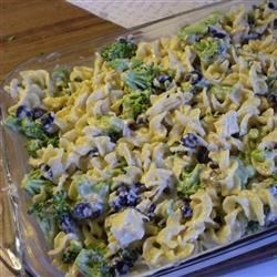 Chicken Broccoli Casserole w/ olives