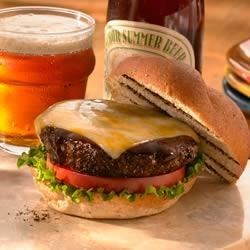 Espresso Rubbed Barbecued Burgers Recipe