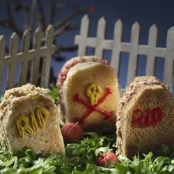 Graveyard Sandwich Tray Recipe