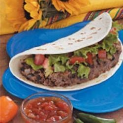 Photo of Soft Taco Burgers by Joan  Hallford