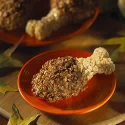 Photo of Thanksgiving Drumstick Treats™ by Kellogg's® Rice Krispies®