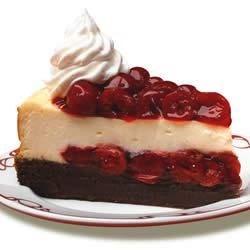 Cherry Chocolate Brownie Cheesecake--DUP