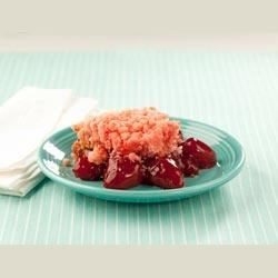 Photo of Strawberry Slow Cooker Scoop Cake by Lucky Leaf Fruit Filling