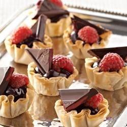 Photo of Raspberry Chocolate Tassies by Ghirardelli