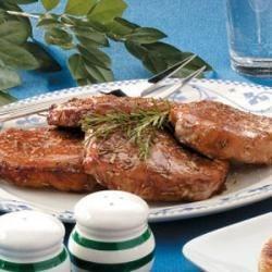 Photo of Rosemary Pork Chops by Lisa Morman