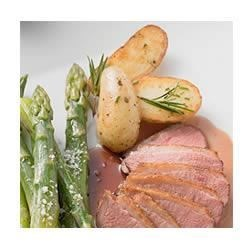 Photo of Roasted Asparagus and Fingerling Potatoes with Rosemary Infused Olive Oil by Hain Celestial