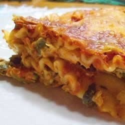Photo of Cream Cheese Chicken Lasagna by Caroline