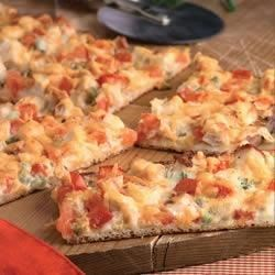 Gourmet White Pizza with Chicken Recipe