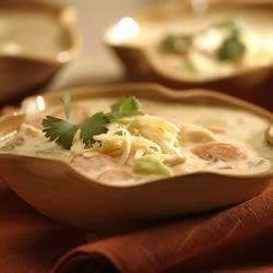 Southwest Chicken and Wild Rice Soup