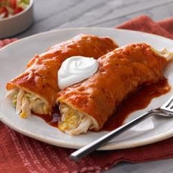 Chicken and Green Chili Enchiladas