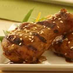 Lawry's(R) Teriyaki Glazed Chicken Wings Recipe