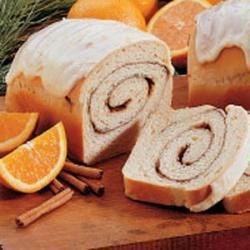 Photo of Cinnamon Swirl Orange Bread by Linda  Eager