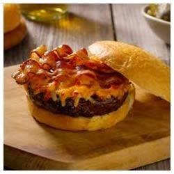 Pimento (Red Pepper) Cheese-Bacon Burgers Recipe