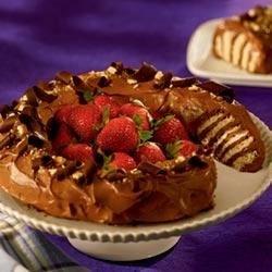 NILLA Chocolate Peanut Butter No-Bake Cake Recipe