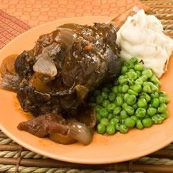 Rosemary Braised Lamb Shanks