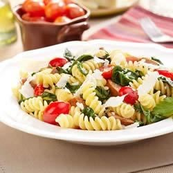 Fusilli with Grape Tomatoes and Sausage Recipe