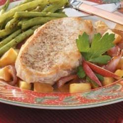 Photo of Apple-Onion Pork Chops by Jean  McCormick