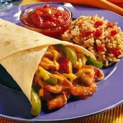 Pork and Pepper Fajitas Recipe