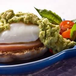 Photo of Eggs Avocado Benedict Style by Chileanavocados.org