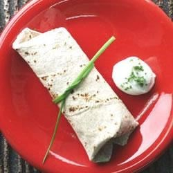 Zucchini Wrapped in Tortillas Recipe