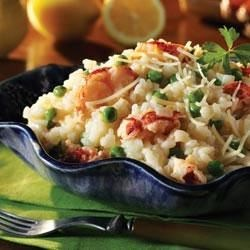 Lobster Risotto with Peas Recipe