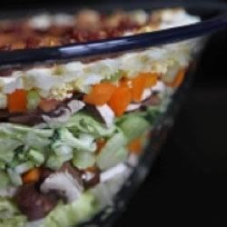 Layered Vegetable Salad Recipe