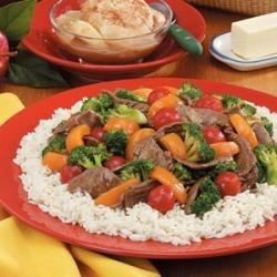 Photo of Apricot Beef Stir-Fry by Susan Payne