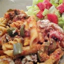 Beef and Cheese Baked Pasta Recipe