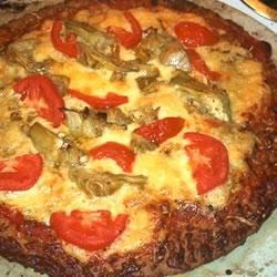 Photo of Artichoke and Garlic Pizza by Brandosgirl