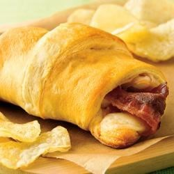 Photo of Turkey, Bacon and Cheese Sandwiches by Pillsbury® Crescents